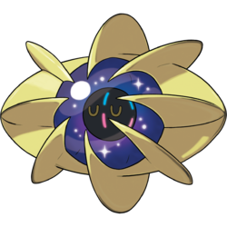 Shiny cosmoem pok dex stats moves evolution locations for Cosmog coloring pages