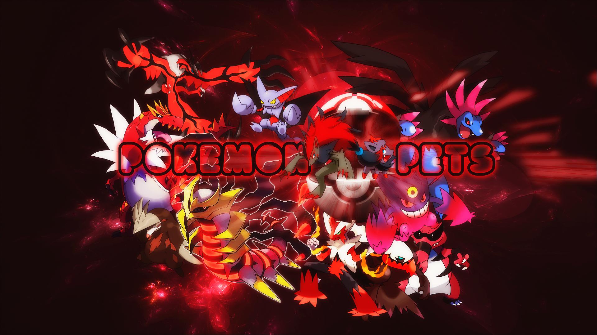 Pokemon MMORPG Pets Wallpaper