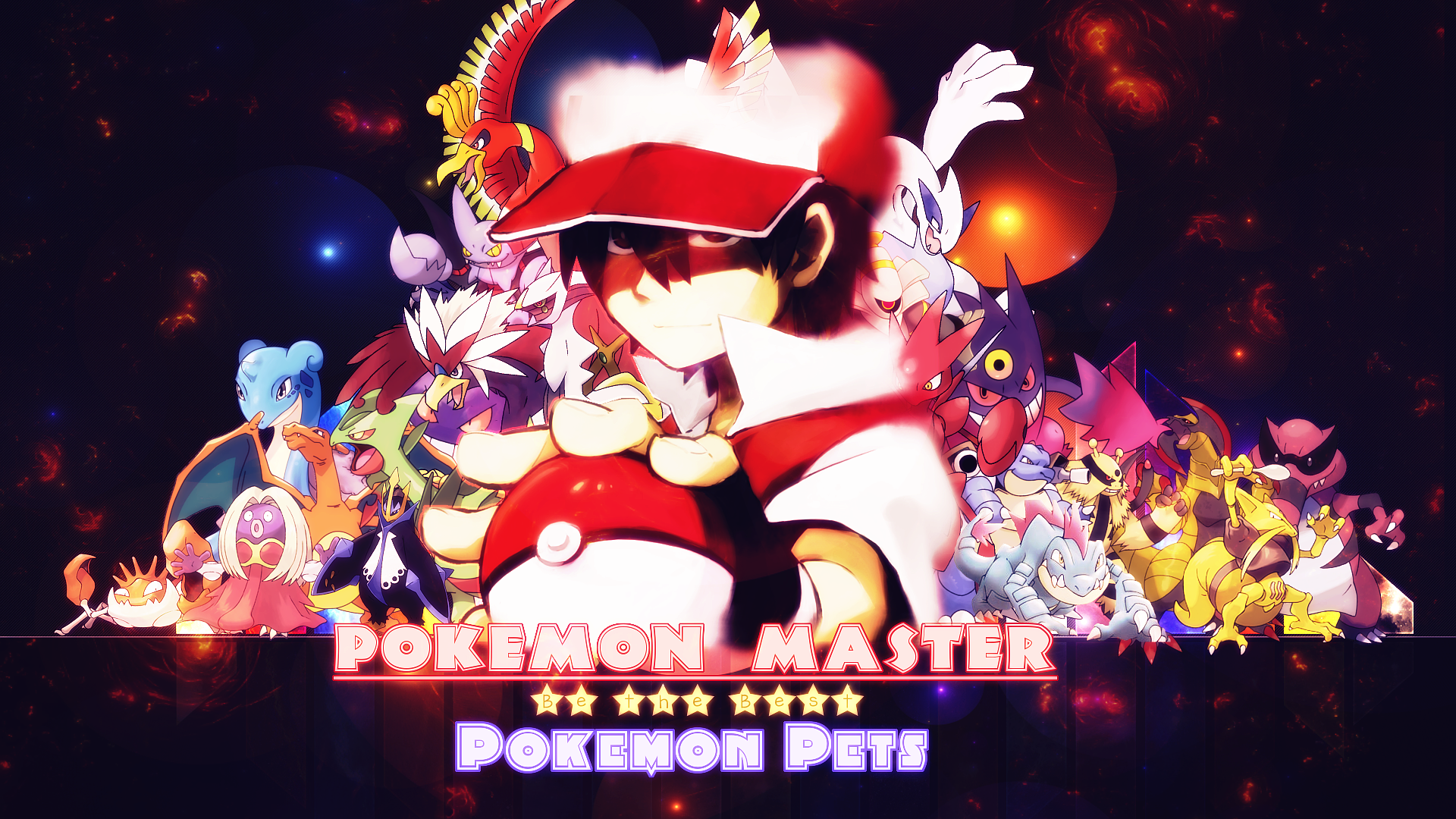 Pokemon Pets Official Game Wallpapers