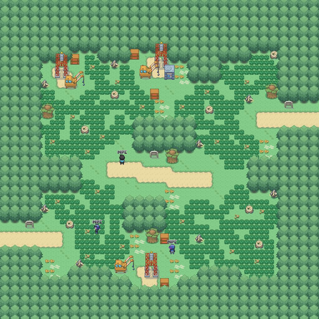 Pokemon Pets Game Map Lightning Strike Path Route Id Zone - Lightning strike map