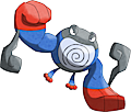 Monster Shiny-Mega-Poliwrath