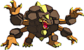 Monster Shiny-Mega-Golem