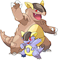 Monster Shiny-Mega-Kangaskhan