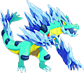 Monster Shiny-Mega-Feraligatr-Frozen