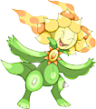 Monster Shiny-Mega-Sunflora