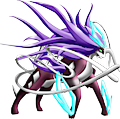 Monster Shiny-Mega-Suicune-Ghost