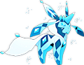 Monster Shiny-Mega-Glaceon