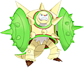Monster Shiny-Mega-Chesnaught-Shield