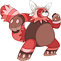 Monster Shiny-Mega-Bewear