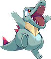 Monster Totodile