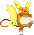 Monster Shiny-Alolan-Raichu