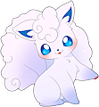 Monster Shiny-Alolan-Vulpix