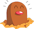 Monster Shiny-Diglett