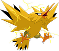Monster Shiny-Zapdos