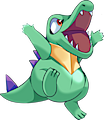Monster Shiny-Totodile