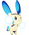 Monster Shiny-Minun