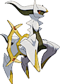 Monster Arceus-Electric