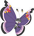 Monster Vivillon-Elegant