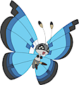 Monster Vivillon-Marine