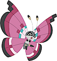 Monster Vivillon-Meadow
