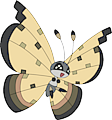 Monster Vivillon-Sandstorm