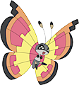 Monster Vivillon-Sun
