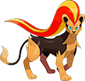 Monster Shiny-Pyroar-F