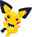 Monster Shiny-Pichu-Spikyeared