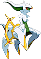 Monster Shiny-Arceus-Electric