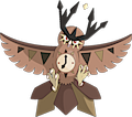 Monster Mega-Noctowl-Clock