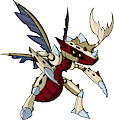 Monster Mega-Genesect-Fossil