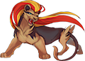 Monster Mega-Pyroar-F