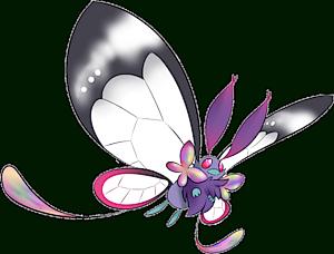pokemon 10012 shiny mega butterfree pokedex evolution moves