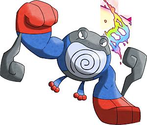 pokemon 10062 shiny mega poliwrath pokedex evolution