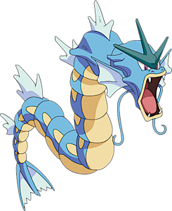 Why is Gyarados a Water and Flying type pokemon?