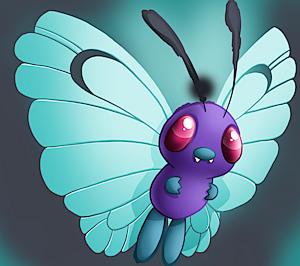 pokemon 2012 shiny butterfree pokedex evolution moves location stats
