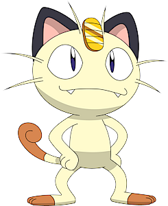 pokemon 2052 shiny meowth pokedex evolution moves location stats