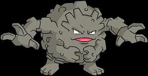 Shiny Graveler Pokemon Pokedex 2075