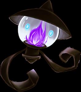 Pokemon 2608 Shiny Lampent Pokedex Evolution Moves Location Stats