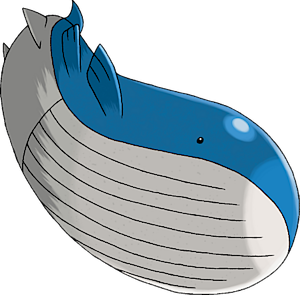 Standard ocean dive wailord quagsire articuno volcanion prism pok forums - Wailord pokemon x ...
