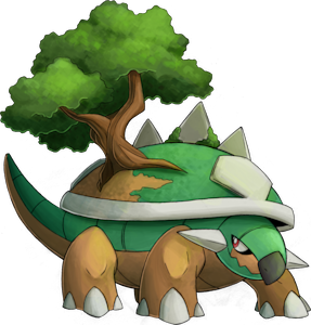 Pokemon 389 Torterra Pokedex Evolution Moves Location Stats