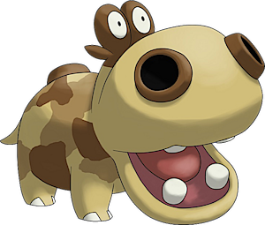 Hippopotas Pokedex Stats Moves Evolution Locations Other Forms