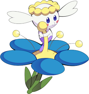 Flabebe Blue Pok 233 Dex Stats Moves Evolution Locations Amp Other Forms Pok 233 Mon Database