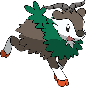 Skiddo Pok 233 Dex Stats Moves Evolution Locations Amp Other
