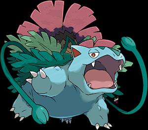 Pokemon Bulbasaur Mega Evolution