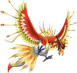 Ho Oh Evolution