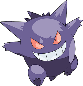 gengar pok dex stats moves evolution locations other forms pok mon database pokemonpets. Black Bedroom Furniture Sets. Home Design Ideas