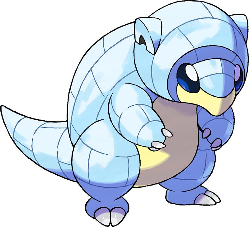 Pokemon 18027 Shiny Alolan Sandshrew Pokedex: Evolution