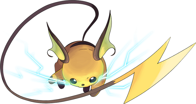 Pokemon Shiny Raichu Images