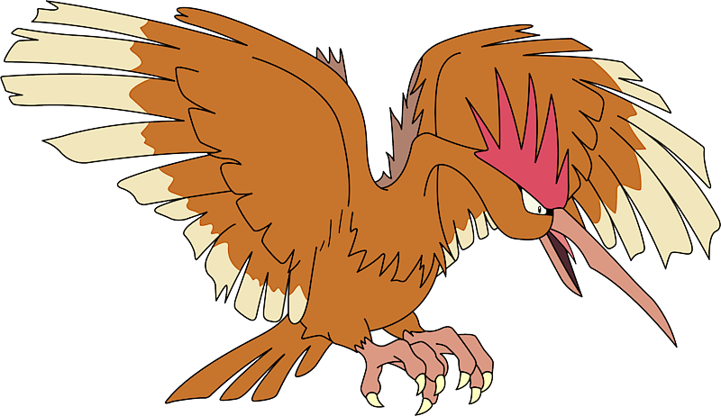 Fearow Pokédex: stats, moves, evolution, locations & other ... Fearow Mega Evolution